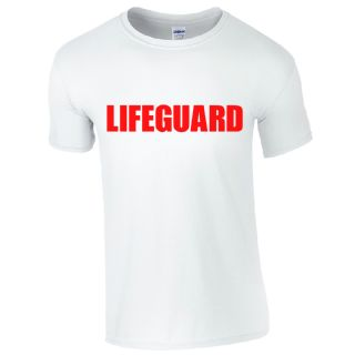 LIFEGUARD WHITE T-SHIRT